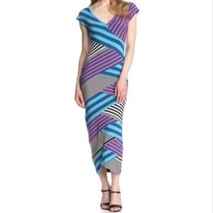 Nicole Miller 'Daryn' Striped Dress